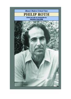 Philip Roth (Bloom's Modern Critical Views)