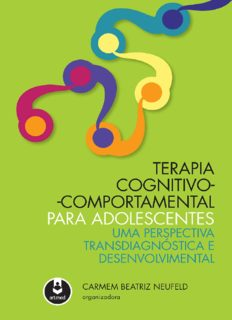 Terapia Cognitivo-Comportamental para Adolescentes: Uma Perspectiva Transdiagnóstica e Desenvolvimental (Portuguese Edition)