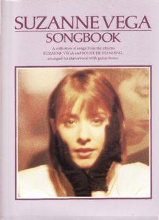 The Suzanne Vega Songbook