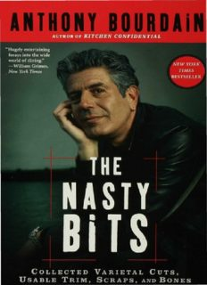The nasty bits: collected varietal cuts, useable trim, scraps and bones