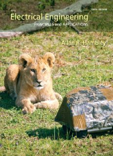 Electrical Engineering- Principles and  Applications, Sixth Edition - Hambley