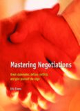 Mastering Negotiations Mastering Negotiations