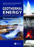 Geothermal Energy  Renewable Energy and the Environment, Second Edition