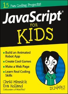 JavaScript® For Kids For Dummies