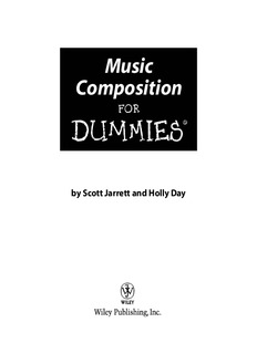 Music Composition DUMmIES
