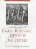 English renaissance literature and culture