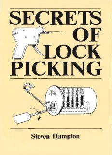 Secrets Of Lock Picking