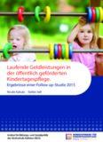 Kukula Sell 2015 Laufende Geldleistungen in der öffentlich geförderten Kindertagespflege