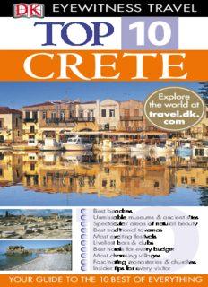 Top 10 Crete (Eyewitness Top 10 Travel Guides)