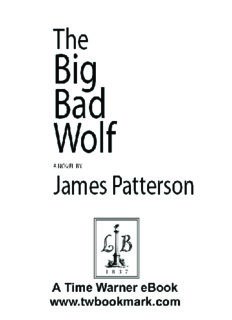 Patterson, James - The Big Bad Wolf