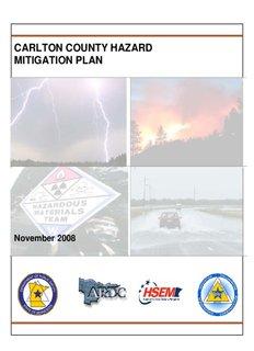 Carlton County Hazard Mitigation Plan - Carlton County, Minnesota