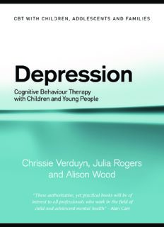 CBT WITH DEPRESSED ADOLESCENTS (Cbt With Children, Adolescents and Families)