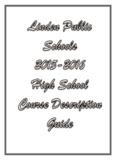 2015-2016 Linden High School Course Guide - Linden Public Schools