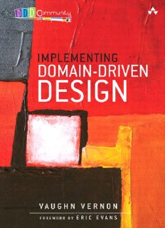 Implementing Domain-Driven Design Vaughn Vernon