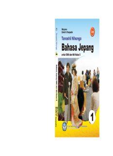 Tanoshii Nihongo 1 Buku Pelajaran Bahasa Jepang Kelas 10 Mulyono Erwin H Nuryadin 2011