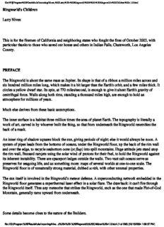 Larry Niven - Ringworld 4 - Ringworld's Children