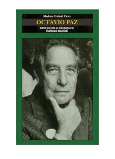 Octavio Paz (Modern Critical Views)