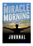 Hal's Miracle Morning Journal