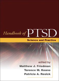 Handbook of PTSD: Science and Practice