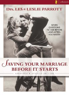 Saving Your Marriage Before It Starts Workbook for Men: Seven Questions to Ask Before and After You Marry