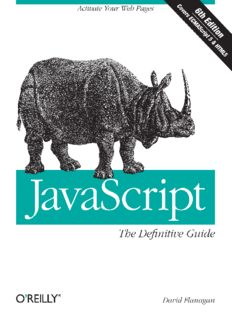 [O`Reilly] - JavaScript. The Definitive Guide, 6th ed. - [Flanagan].pdf