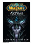 World of WarCraft - (2009) Arthas Rise of the Lich King - Christie Golden.pdf