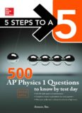 500 AP Physics 1 questions to know by test day