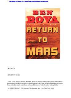 Bova, Ben - Mars 2 - Return to Mars