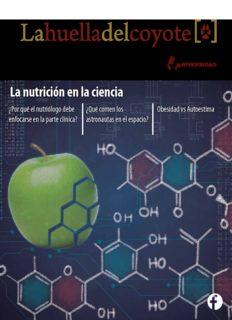 La nutrición en la ciencia