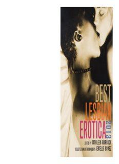 Best Lesbian Erotica 2013