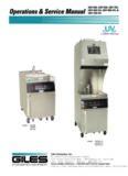 Model: GEF-400, GEF-560, GEF-720 & GEF-400-VH, GEF-560-VH, GEF-720-VH Cleaning