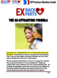 Ex Back Experts™ System PDF, eBook by Samantha Sanderson & Dean Cortez