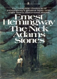 Hemingway, Ernest - The Nick Adams Stories