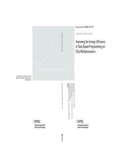 ISBN 978-82-326-2422-5 (printed ver.) ISBN 978-82-326-2423-2 (electronic ver.) ISSN 1503-8181 ...