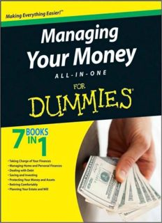 Managing Your Money All-In-One For Dummies (For Dummies (Lifestyles Paperback))