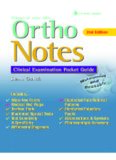 Ortho Notes: Clinical Examination Pocket Guide, 2nd Edition
