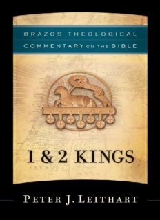 1 & 2 Kings (Brazos Theological Commentary)