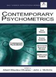Contemporary Psychometrics: A Festschrift for Roderick P. Mcdonald (Multivariate Applications Books) (Multivariate Applications Series)