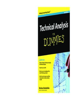 Technical Analysis For Dummies, Second Edition (For Dummies (Business & Personal Finance))