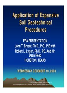 John Bryant, Ph.D., P.E., Bryant Consultants, Inc.