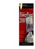 Microsoft Powerpoint 2010 Bible.pdf