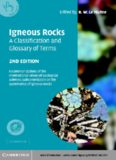 Igneous rocks: a classification and glossary of terms : recommendations of the International Union of Geological Sciences, Subcommission on the Systematics of Igneous Rocks