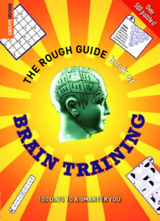 Dr Gareth Moore-Dr Tom Stafford-The Rough Guide Book of Brain Training