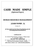 HUMAN RESOURCE MANAGEMENT - VIBEWA