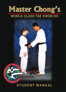 Grandmaster Sun Ki Chong's 'World Class Tae Kwon Do'