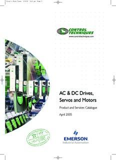 AC & DC Drives, Servos and Motors