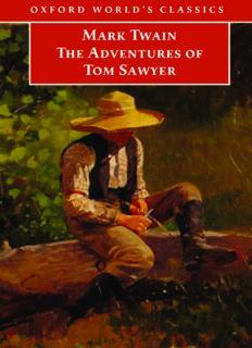The Adventures of Tom Sawyer (Oxford World's Classics)