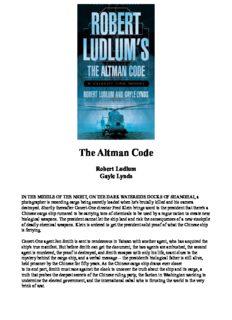 Robert Ludlum's The Altman Code: A Covert-One Novel