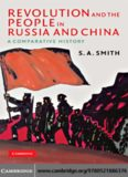 Revolution and the People in Russia and China: A Comparative History (The Wiles Lectures)