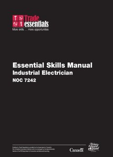 Essential Skills Manual - Industrial Electrician - National Adult
